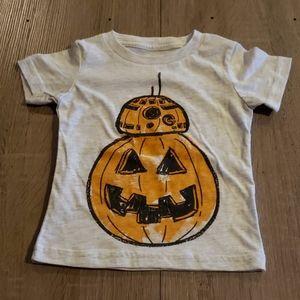 $3 w/ bundle! Star Wars BB-8 Pumpkin Hallowern Tee